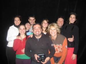 Amaia, Laura, David, Silvia, Quique, Celia, Ana, Carlos y Silvia(MªJosé)
